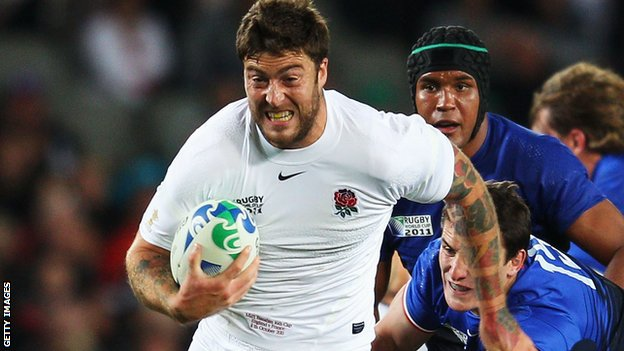 Matt Banahan's last international was against France at last year's World Cup
