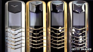 Vertu handsets