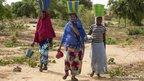 Women working at a gardening club in Tera, Tillaberi province, Niger