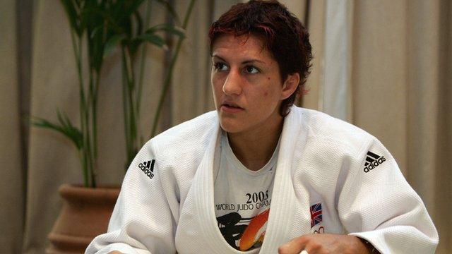 GB judoka Sophie Cox