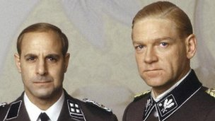 Kenneth Branagh with Stanley Tucci in Conspiracy