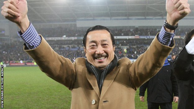 Cardiff City owner Tan Sri Vincent Tan