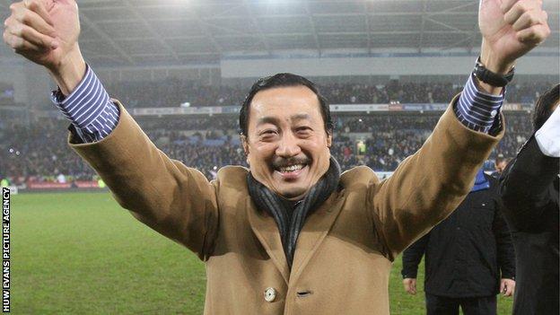 Cardiff City owner Tan Sri Vincent Tan
