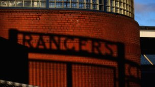 Rangers shadow at Ibrox