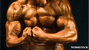 A bodybuilder from Thinkstock
