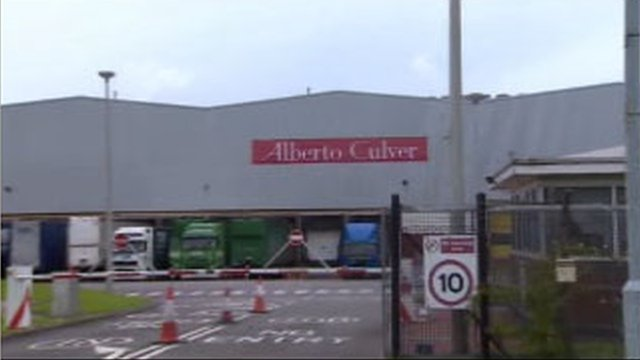 The Alberto Culver plant in Swansea