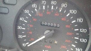 The speedometer
