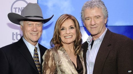 Larry Hagman, Linda Gray, Patrick Duffy