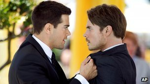 Jesse Metcalfe and Josh Henderson in Dallas