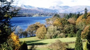 Lake District scenery