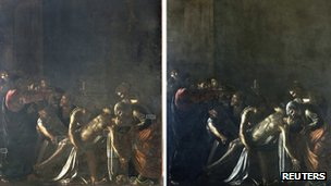 Caravaggio's Resurrection of Lazarus