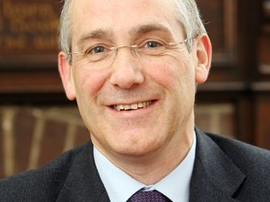 David Lawrence, principal of Easton College