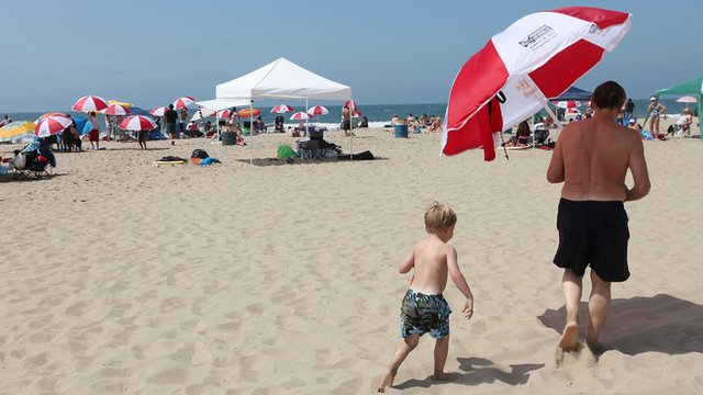 Southern California Beaches event at Santa Monica Beach