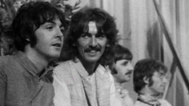 The Beatles in Bangor in August 1967