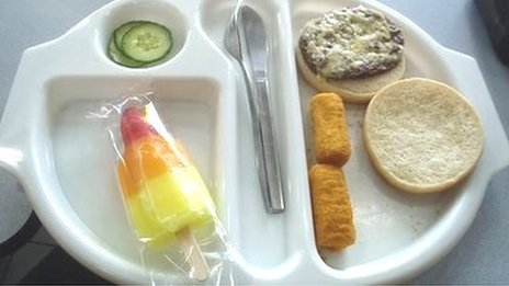 Photo of Martha&#039;s school lunch