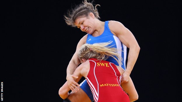Great Britain wrestler Olga Butkevych