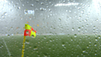 Storm halts Ukraine-France match