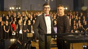 Gareth Malone, Gary Barlow and the Military Wives choir