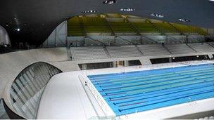 Olympics Aquatics Centre