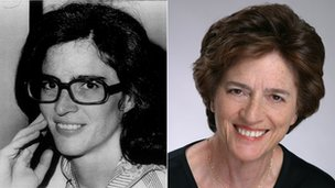 Elizabeth Holzman then and now