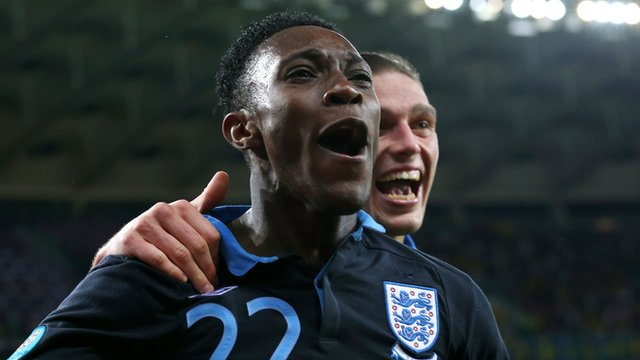 England striker Danny Welbeck