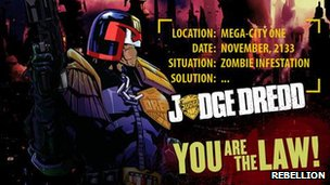 Judge Dredd vs Zombies screenshot
