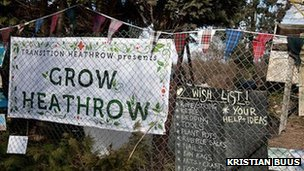 Grow Heathrow, Photo by Jonathan Goldberg
