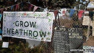 Grow Heathrow, Photo by Jonathan Goldberg