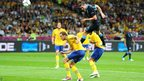 Andy Carroll scores with a header