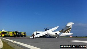 Blue Islands plane crash, Jersey, 16 June