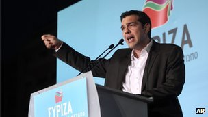 Syriza leader Alexis Tsipras could scrap Greece's bailout commitments