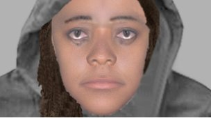 Essex Police e-fit of Southend mugging suspect