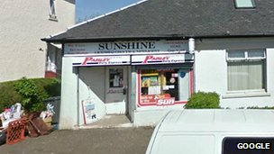 Sunshine Licensed Grocers in Paisley