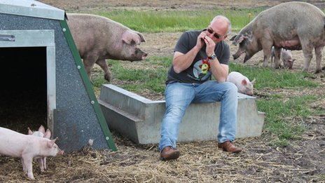Mark Hayward, Suffolk pig farmer