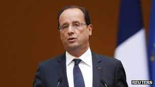 President Francois Hollande