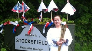 Stocksfield welcome