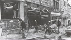 Bristol Guild after IRA bombing in 1974