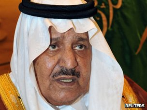 Prince Nayef bin Abdul Aziz Al Saud (October 2011)