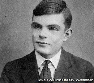 Alan Turing aged 16 years old 