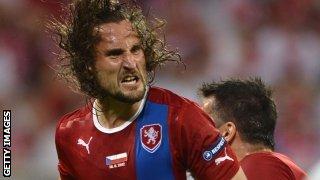 Czech midfielder Petr Jiracek