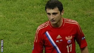 Russia's Alan Dzagoev 