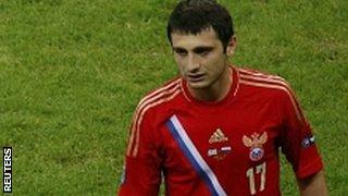 Russia's Alan Dzagoev