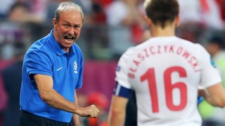 Poland coach Franciszek Smuda has left his post after the co-hosts elimination from Euro 2012