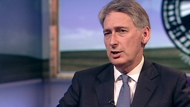 Philip Hammond on the BBC's Sunday Politics
