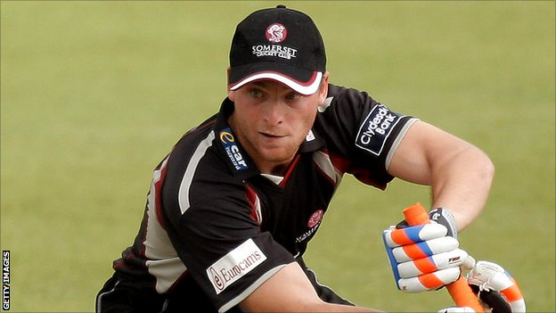 Somerset batsman Jos Buttler