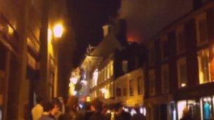 Strada fire, Bury St Edmunds