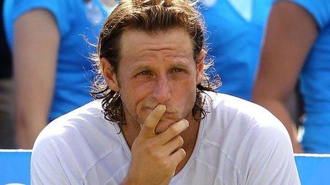 BBC Sport - David Nalbandian: Reaction to disqualification ...
