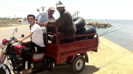 Fayoum fishermen who voted for Mohammed Mursi