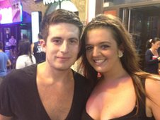 James Ward and Katy Thomson