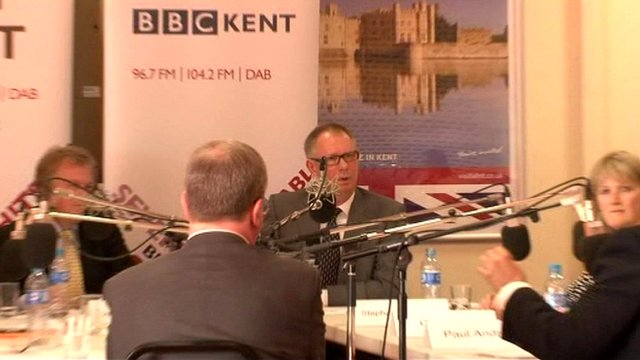 Radio Kent debate
